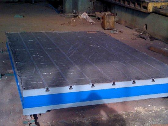 铸件的质量决定了铸铁平台的价格