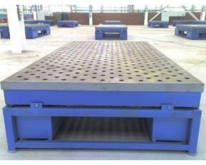 铸铁平台平板有很大的特色和优势